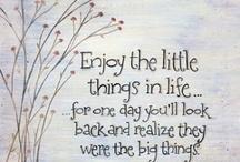 Little Sayings...