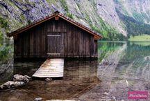 House on the lake. / by Mariany Maldonado
