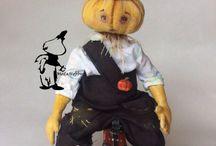 Модное хобби / Авторская кукла ручной работы