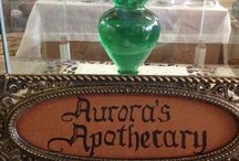 Aurora's Apothecary products / We make all of our products in small batches from herbs that we grow