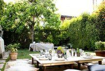 Garden picknic