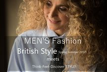 Think-Feel-Discover STYLE ! Spring-Summer 2017 / BE in STYLE, LIVE is STYLE just be ME!  BRITISH STYLE Spring Summer 2017 meets Think-Feel-Discover STYLE!  Just BE INSPIRED!