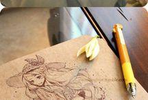 Drawing manga and anime