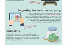 Infographics / Furniture and Interior Design Infographics
