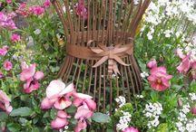 Ogrodowe inspiracje vintage / wszystko czym można udekorować ogród, taras, balkon