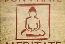 Meditation & Yoga / Namaste / by 1flybuttafly