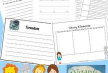 Literature Printables & Activities