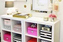 Storage and decor