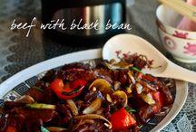 Beef n black bean sauce