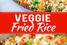 VEGGIE FRIED RICE.