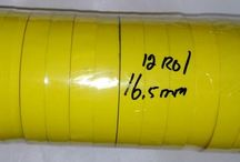 Isolasi Trafo ferit lebar 16,5 mm per pack = 12 rol