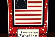 Old Glory Flag Quilt Block {Die} / Old Glory Quilt Block Die is another block in our Quilting Collection of stamps and dies! Fun for any patriotic occasion! Quilt block, flag, old glory, stars and stripes, papercrafting, stamps, dies, ink
