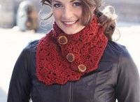 crochet scarfs and shawls
