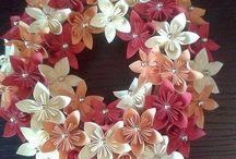 kusudama, modular origami / our handmade