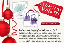 My Wilton Wishlist / #wiltoncontest / by Dianne Smith