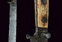 Knives and daggers, 15th century