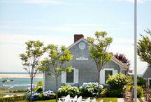 Beach house landscapes
