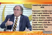 İbrahim Saraçoğlu / İbrahim Saraçoğlu'nun denenmiş bitkisel kürleri..