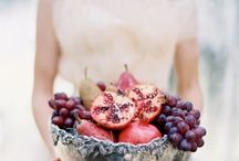 Pomegranate_autumn_wedding / Pomegranate.. for good luck and passion colours..
