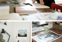 Illustrator's workspace