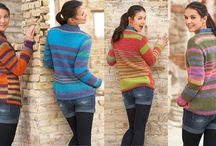 Sweaters & Cardigans / A collection of our knitted and crocheting sweaters! Complete kits, free patterns, inspiration and much more!