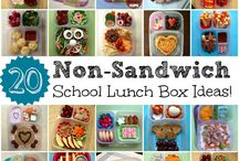 Kids Lunches / Great ideas for school lunches that go beyond the usual peanut butter and jelly sandwiches.