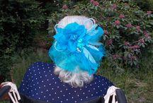 Fascinator Haarschmuck Headpiece / Fascinator, Haarschmuck, Spange u.v.m. Mit viel Liebe und Fantasie selbst gemacht.