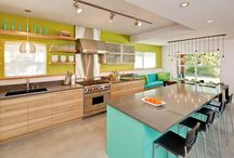 Colorful Kitchens / Anything but a white kitchen.