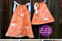 Sewing, Girls Dresses
