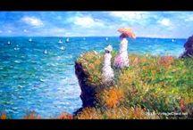 Claude Monet / Works of the famous French painter Claude Monet
