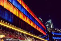 Darling Harbour, Sydney / Illuminate display at Sydney harbour