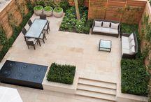 Urban contemporary gardens