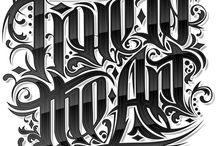 Typography & Fonts / by Jesse Hernandez