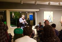 deliberate distortions Sept 2015 / jazz in today's art exhibition & performances