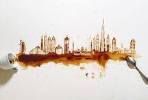 Kahvimaalauksia