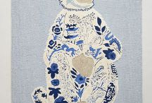 Blue and white / by Liesel Trautman