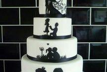schwarz weiß Hochzeiten
