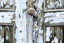 Doors, Portals, Corridors / Doors and portals and corridors. Old doors. New doors. Wooden doors. Strange doors. Beautiful doors.
