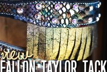 Fallon Taylor Tack Collection / The beautifully different tack designed by Fallon Taylor...available now at Teskey's!