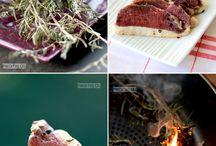 Fumage de viande poisson
