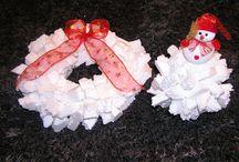 Vánoční tvoření / vánoční dekorace