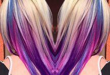 rainbow hair hidden