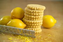 Cookies / Lemon Zest Shortbreads