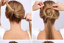 Step-by-step hairstyles