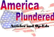 Past Articles-America Plundered / These are articles previously written at America Plundered.