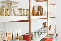 Craft Studio Ideas / Ideas for studio storage and display