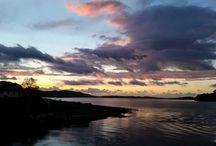 Sunsets / Sunsets over Loch Ewe.