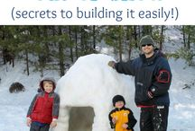 Snow Much Fun / Snow related activities for families and children indoor and outdoor