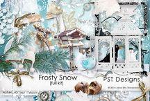 Frosty Snow