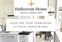 Home Decor + Home Improvement Ideas